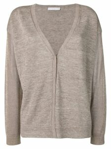 Fabiana Filippi v-neck cardigan - Neutrals