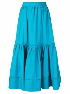 Twin-Set midi wide skirt - Blue