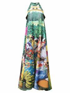 Mary Katrantzou printed long dress - Multicolour