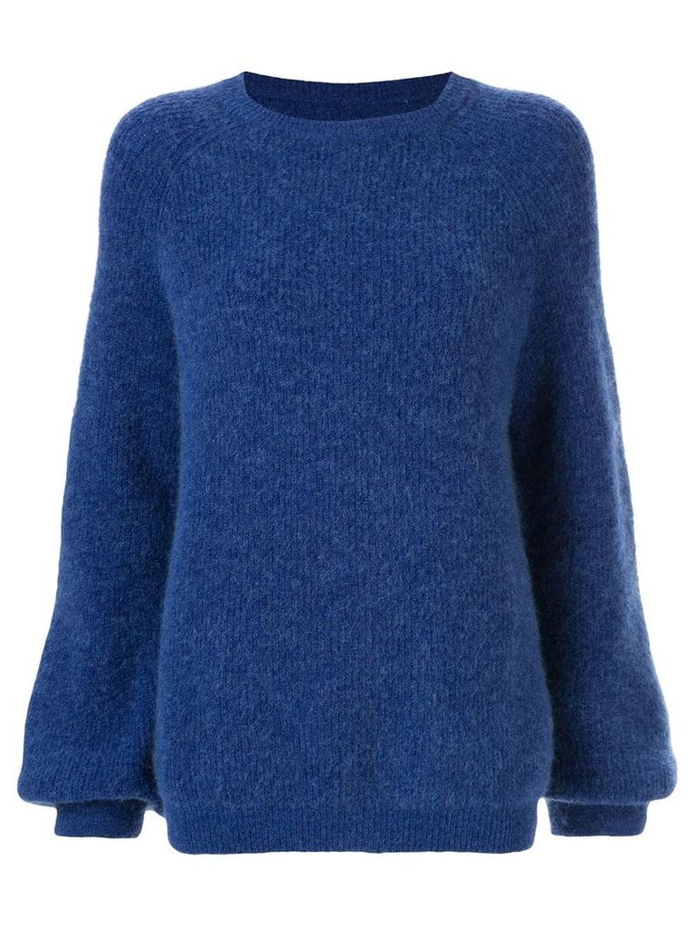 Rebecca Vallance Luxe knit sweater - Blue