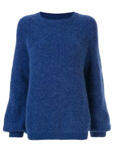 Rebecca Vallance Luxe knit sweater - Blue