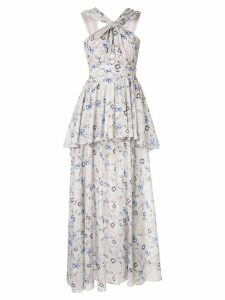 Aje Fraser maxi dress - White