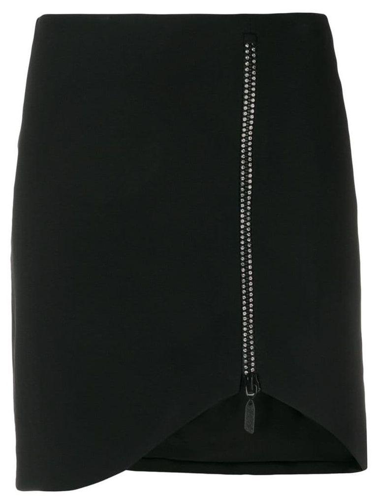 David Koma crystal-embellished skirt - Black
