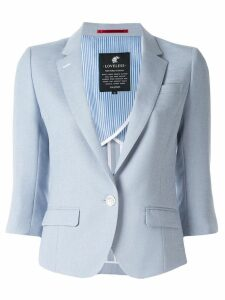 Loveless 3/4 sleeve blazer - Blue