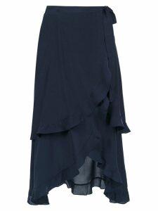 Clube Bossa Sania midi skirt - Blue