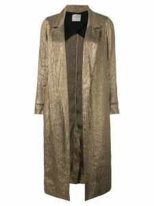 Forte Forte open front coat - Brown