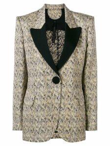 Petar Petrov tailored tuxedo jacket - Neutrals