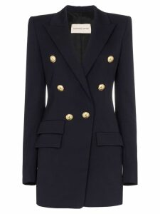 Alexandre Vauthier double-breasted wool blazer - Blue