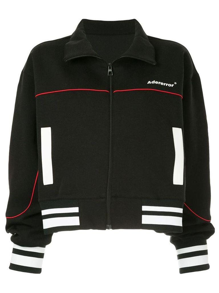 Ader Error cropped zip-up jacket - Black