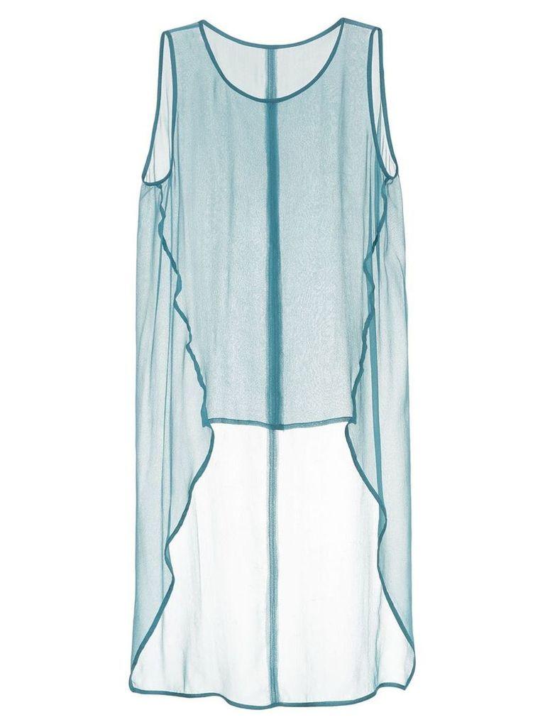 Taylor Subtract vest top - Blue
