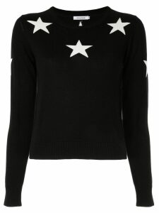 Guild Prime contrast star jumper - Black