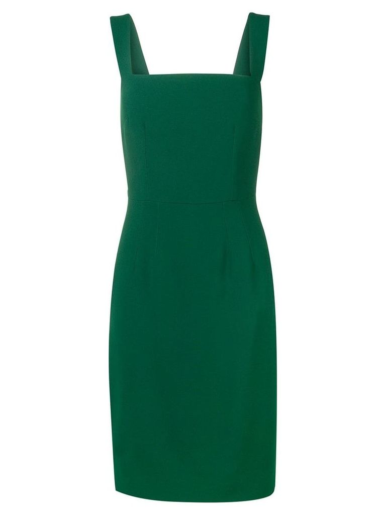 Dolce & Gabbana slim-fit midi dress - Green