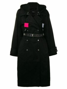 Diesel hooded trench coat - 9Xx