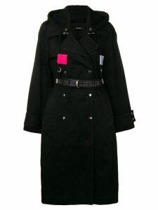 Diesel hooded trench coat - 9Xx