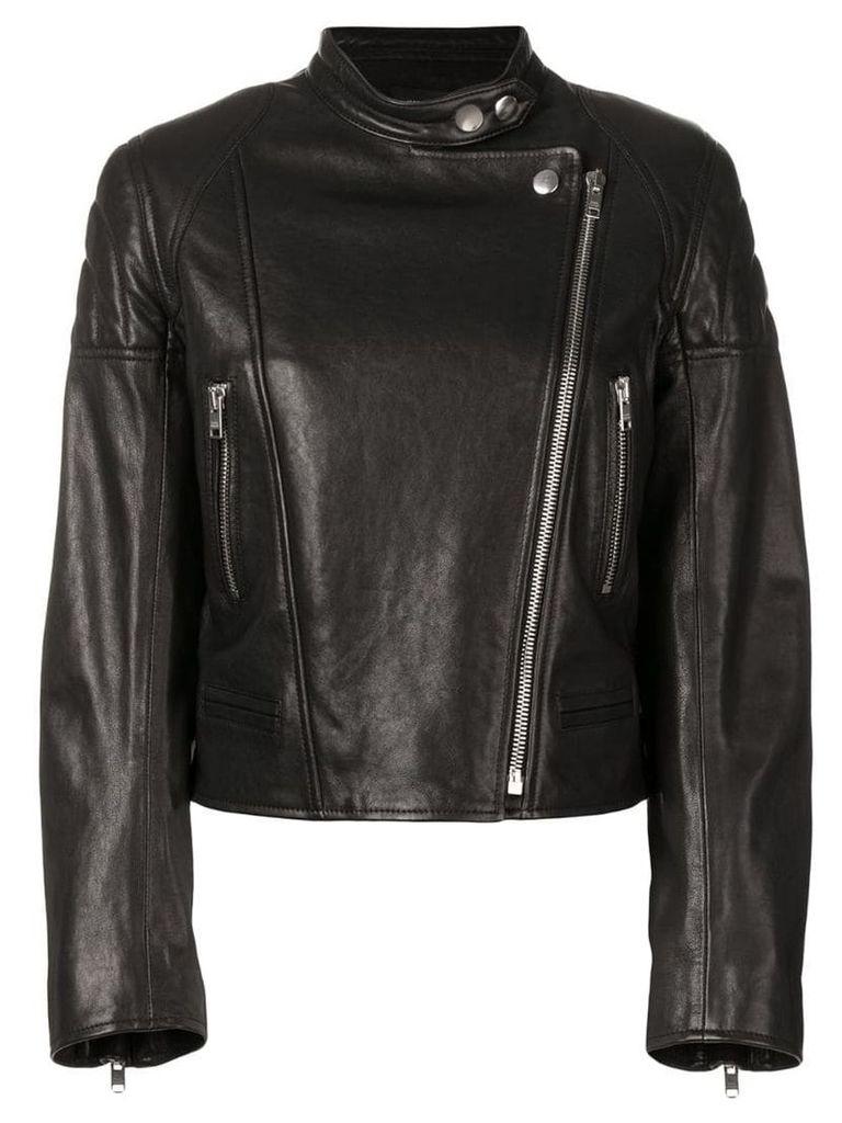 Isabel Marant bald biker jacket - Black