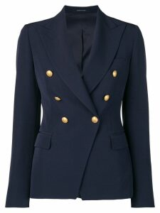 Tagliatore double-breasted blazer - Blue