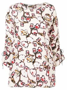Dorothee Schumacher Daydream Meadow printed blouse - White