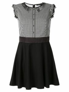 Loveless contrast top dress - Black