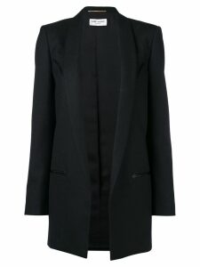 Saint Laurent masculine cut blazer-coar - Black