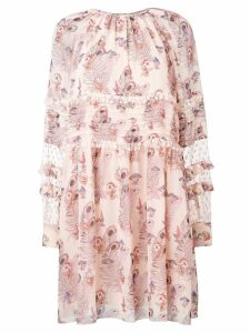 Giamba floral print dress - Neutrals