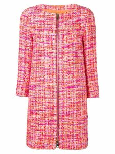 Herno bouclé jacket - Pink
