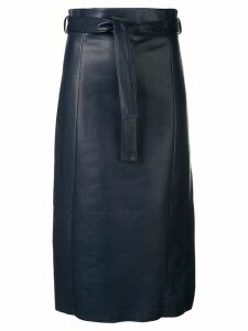Drome high-waisted midi skirt - Blue