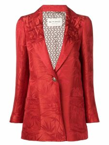 Etro patterned blazer - Red