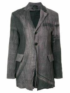 Barbara Bologna wrinkled blazer - Grey