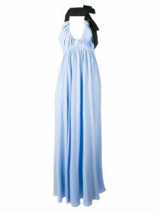 Nº21 halterneck gown - Blue