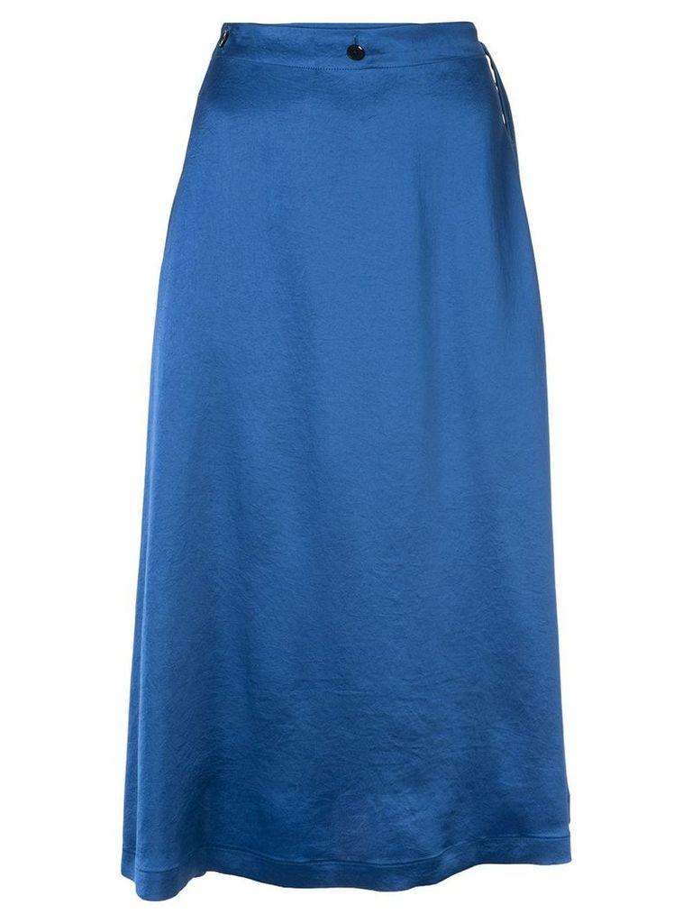 08Sircus satin skirt - Blue