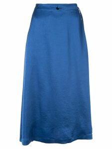 08Sircus satin skirt - Blue