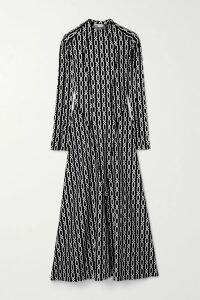 Rachel Zoe - Genevieve Open-back Two-tone Sequined Crepe Gown - Black