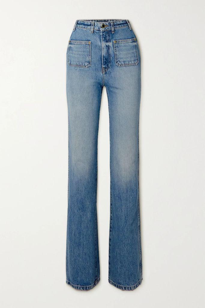 Proenza Schouler - Printed Cotton-jersey T-shirt - Black
