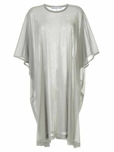08Sircus sheer T-shirt dress - Grey