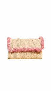 Hat Attack Fringe Clutch