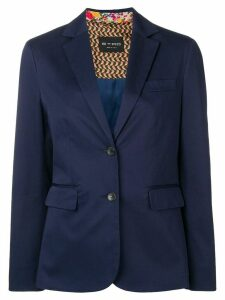 Etro tailored blazer jacket - Blue
