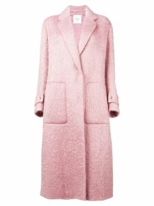 Agnona oversized coat - PINK