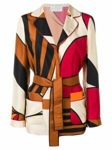 Alberta Ferretti printed jacket - Neutrals