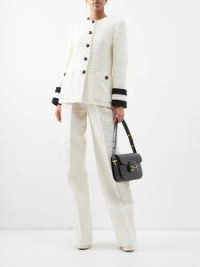 Jil Sander - Gaudi Single Breasted Cotton Blazer - Womens - Ivory