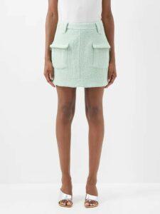 Dodo Bar Or - Angel Geometric Embroidered Gingham Cotton Dress - Womens - Tan Multi