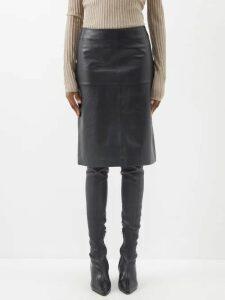Ganni - Bijou Leopard Print Cotton Mini Dress - Womens - Leopard