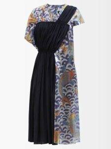 Calvin Klein 205w39nyc - Leopard Print Denim Midi Skirt - Womens - Red Multi
