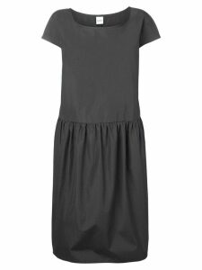 Aspesi shift short sleeved dress - Grey