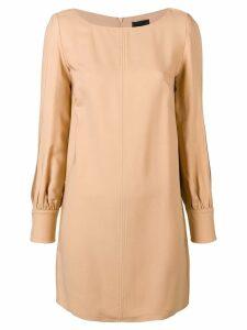 Elisabetta Franchi shift mini dress - Orange