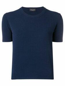 Roberto Collina round neck T-shirt - Blue