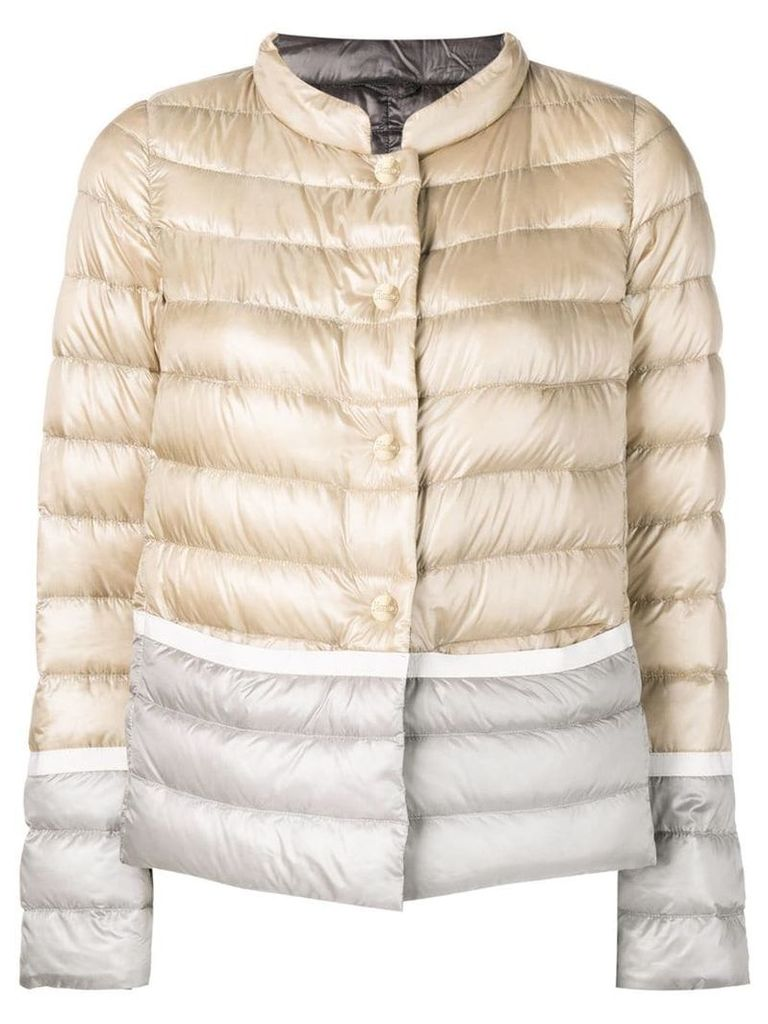 Herno classic padded jacket - Neutrals