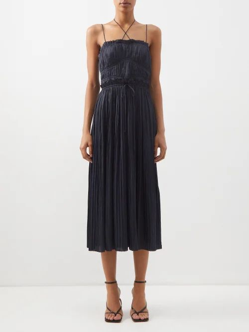 Chloé - Vick Leather Tote - Womens - Grey