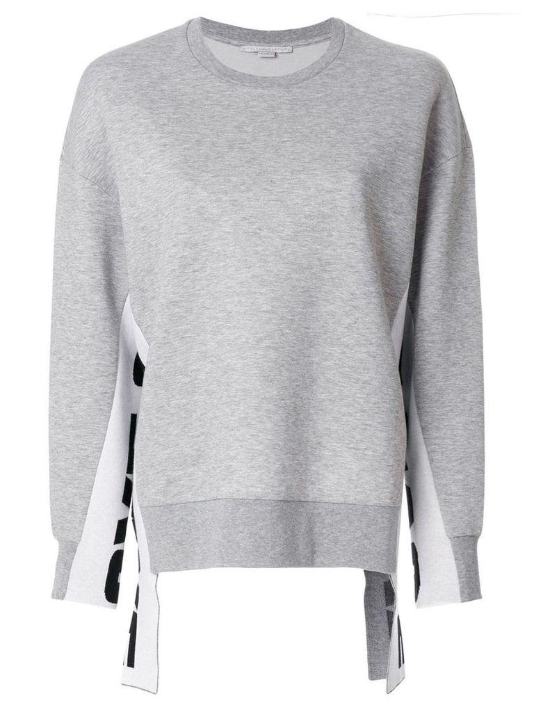 Stella McCartney All Is Love sweatshirt - Grey