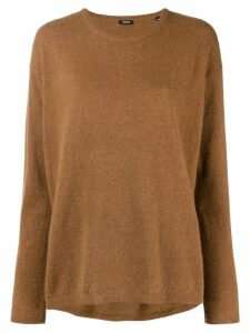 Aspesi crew neck sweater - Brown