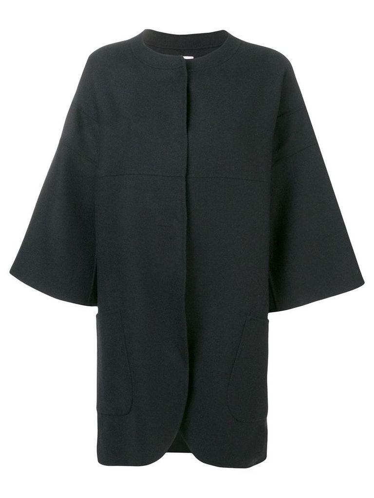 Odeeh wide sleeve coat - Blue